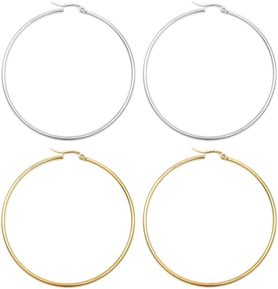 Women/'s hoop earrings bohemian Hoop Earrings Signature Maxi Hoop Earrings Ethnic earrings Hoop earrings gold Large hoop silver earrings