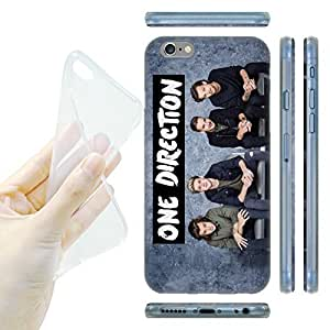 Official One Direction 1D GP1 Group Photos Soft Gel Back Case Cover for Apple iPhone 6 4.7