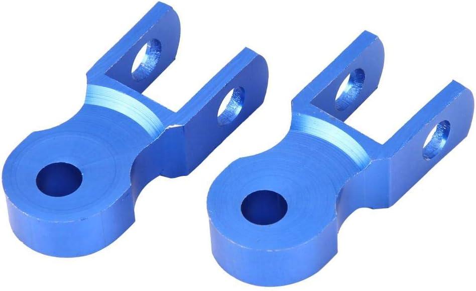 con tornillo azul Duokon Elevador de amortiguador de amortiguador trasero para motocicleta 2pcs dispositivo de aumento de aleaci/ón de aluminio de 5 cm para chasis