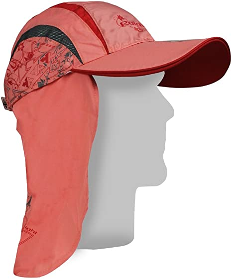 Gorra Sahariana W - Raidlight - One size, Coral: Amazon.es ...