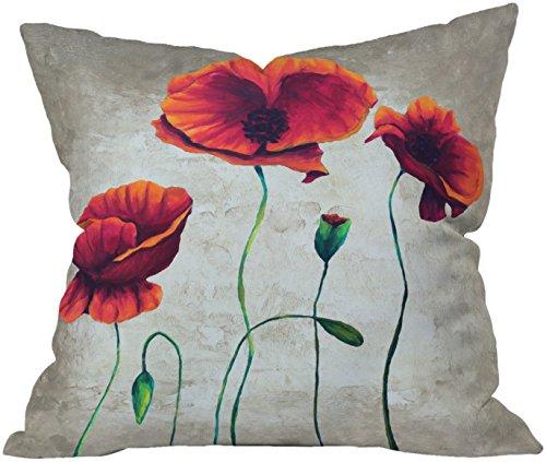 DENY Designs Madart Vibrant Poppies