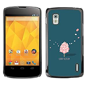 "Dragon Case - FOR LG Nexus 4 E960 - ""Everything is going on - Caja protectora de pl??stico duro de la cubierta Dise?¡Ào Slim Fit"