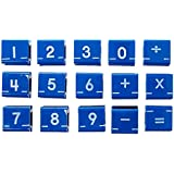 """Center Enterprise CE6841 READY2LEARN Numbers and Signs Stamps, 1"""" (Pack of 15)"""