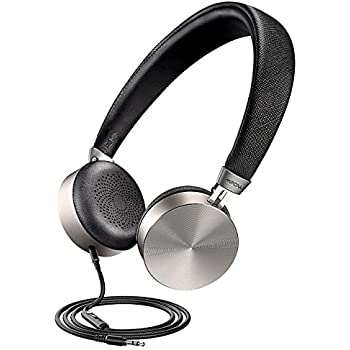 Mpow HC1 On-Ear Headphones, Hi-Fi Stereo Earphones, Wired Metal Shell Headset with Built-in Mic, in-line Control for iPhone iPad Android Smartphones Laptop ...
