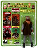Mad Monsters The Human Wolfman 8 inch action figure (2012)