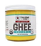 Tin Star Foods 100% Organic Grassfed Ghee – Gluten-Free Non-GMO Paleo Made in USA, 13.5 oz