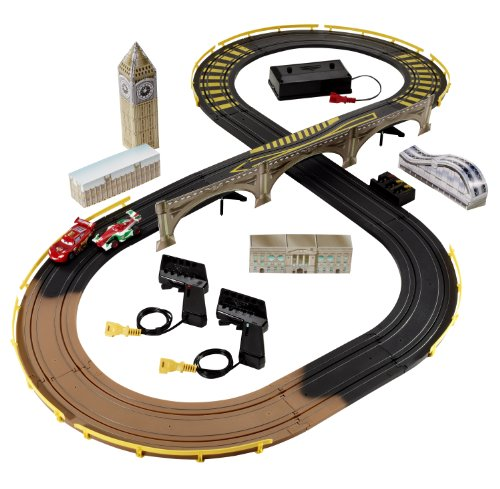 Cars 2 R/C London City Raceway Slot Car Racing Set ()