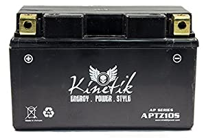 51T WDUfZHL._SX300_ amazon com 12v 8 6ah battery for yamaha 700 fz 07 2015 electronics Fz07 2016 Black at creativeand.co