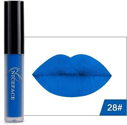 8 Colores Profesional Pintalabios Mate Labial de Maquillaje Larga ...