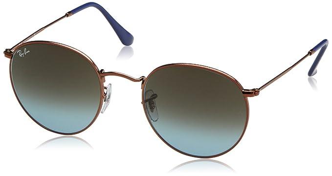 c61827d26c Ray-Ban - anteojos de sol redondas de metal: Amazon.com.mx: Ropa ...
