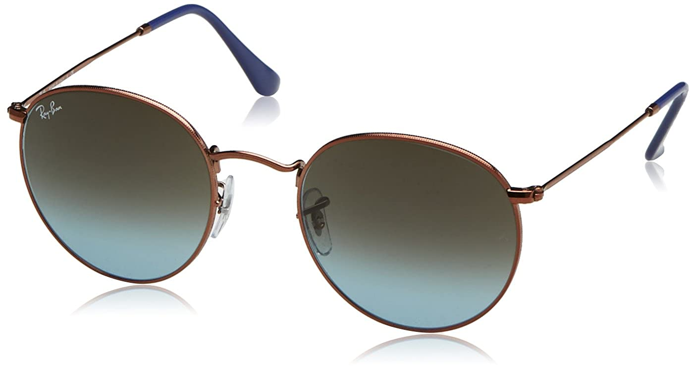 72ba36dc12 Amazon.com  Ray-Ban Round Metal Sunglasses  Clothing
