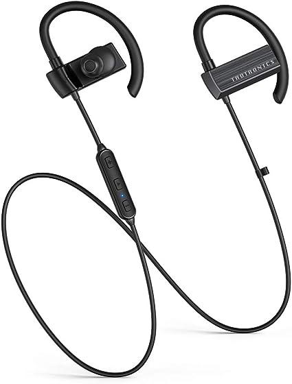 TaoTronics Cuffie wireless Bluetooth, 3 modalità Eq