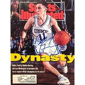 Hurley, Bobby 4/13/92 autographed magazine
