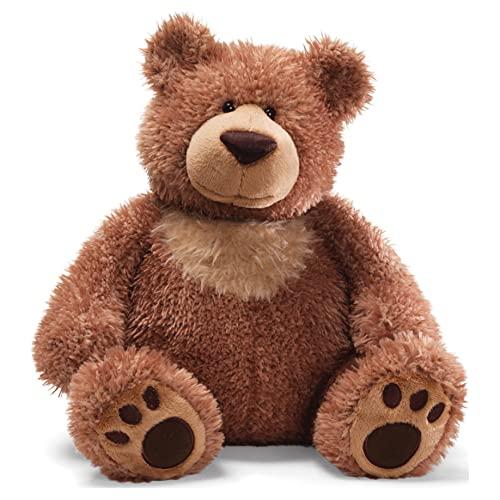 GUND Slumbers Teddy Bear Stuffed Animal Plush, Brown, 17 #34;