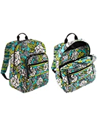 Vera Bradley Campus Backpack in Island Blooms