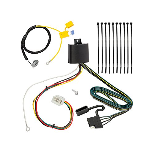 Tekonsha 118277 4-Flat Tow Harness Wiring Package with Circuit Protected ModuLite HD Module