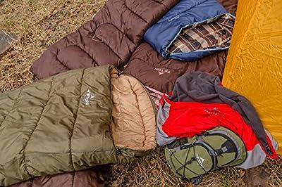 TETON Sports Celsius Regular -18C/0F Sleeping Bag; Free Compression Sack Included