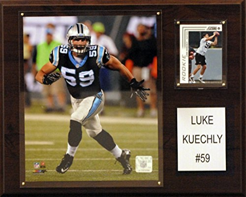 NFL Carolina Panthers Luke Kuechly Player Plaque, 12 x 15-Inch from C&I Collectables
