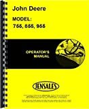John Deere 755 855 955 (SN# 100001 and up) Tractor Operators Manual (JD-O-OMM95303)
