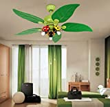 Huston Fan 42-inch Children's Room Ceiling Fan Light Cartoon Fan With LED Living Room Bedroom Ceiling Fan Chandelier Lamp Fan Lamp