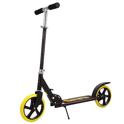 WYQ Scooter de Empuje Duradero No eléctrico Aleación de ...