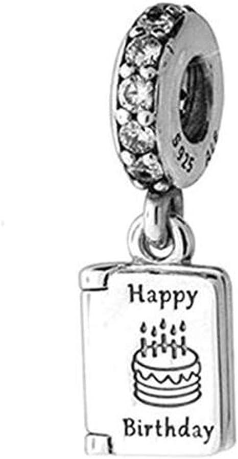 Peachy Amazon Com Meetccy Fits Original Pandora Charm Bracelet 925 Birthday Cards Printable Opercafe Filternl