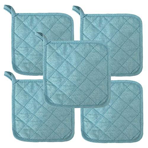Lobyn Value Packs Potholders 10 Each Beach Themed Color Ocean Blue
