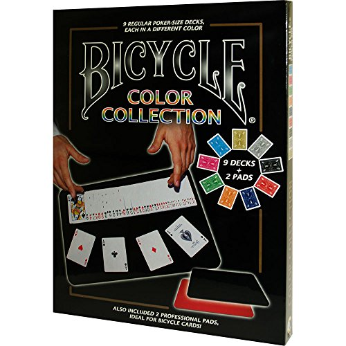 MMS Bicycle Color Collection (9 Decks, 2 Close Up Pads) Tricks by MMS