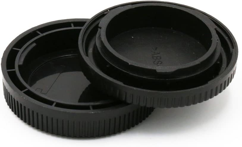 EF-S Mount Tapa cuerpo Canon EOS Montura EF EF-S Body Cap Protectora EF Tapa protecci/ón trasera compatible con Canon EF EF-S Cubierta de la carcasa E + tapa posterior // trasera del objetivo RF-3