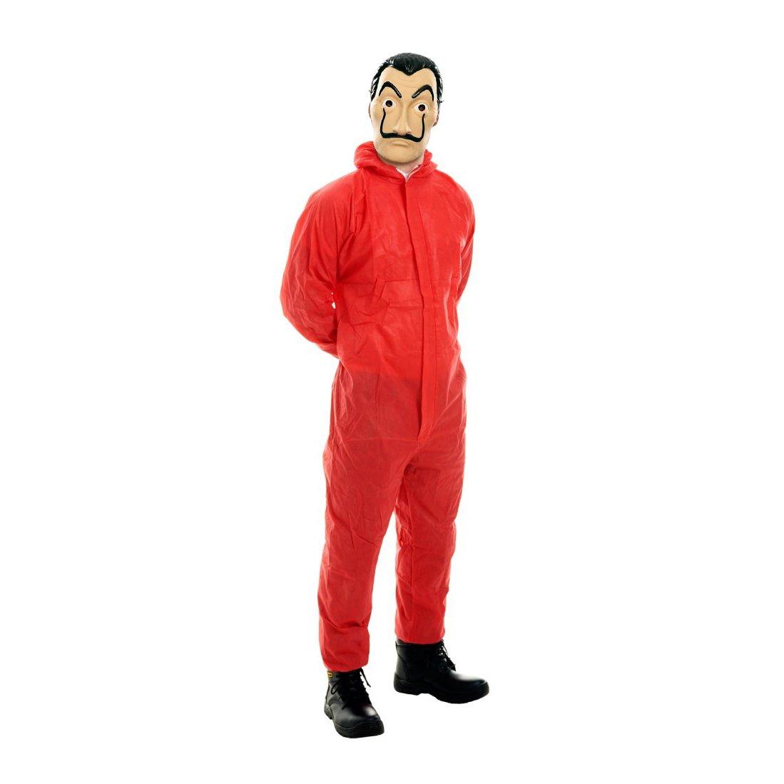 Asvp Shop Haus Des Geldes La Casa De Papel Maske Roter Anzug