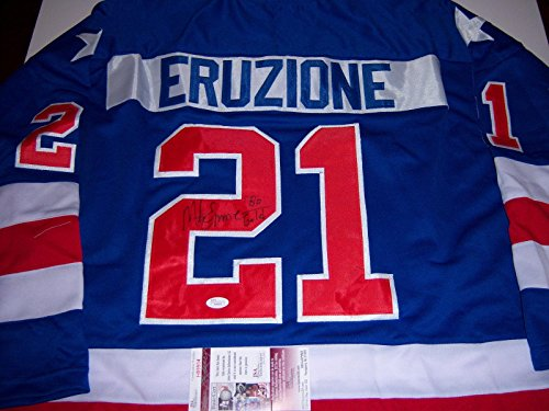 Used, Mike Eruzione 1980 USA Olympic Gold Medal coa Signed for sale  Delivered anywhere in Canada