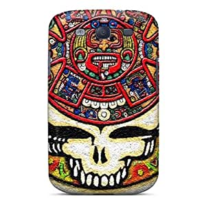 Anti-Scratch Hard Phone Covers For Samsung Galaxy S3 With Allow Personal Design Fashion Grateful Dead Skin SherriFakhry