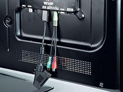 Hama 00083099 - Adaptador para Samsung TV, toma Scart: Amazon.es: Electrónica