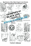 Glimpses of Black Life along Bayou Lafourche, Curtis J. Johnson, 1479747521