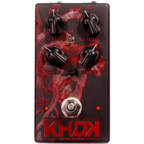 (KHDK Dark Blood Distortion Effects Pedal)