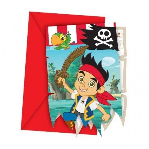 Jake & The Neverland Pirates Party - Invitations & Envelopes x -