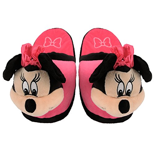 Stompeez Animated Minnie Mouse Plush Slippers - Ultra