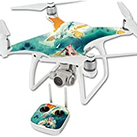 Skin For DJI Phantom 4 Quadcopter Drone – Acid Surf | MightySkins Protective, Durable, and Unique Vinyl Decal wrap cover | Easy To Apply, Remove, and Change Styles | Made in the USA