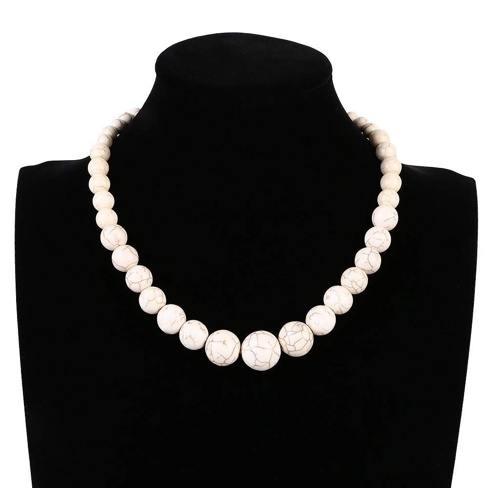 Choker Bead Design Simple Necklace Short Chain Party Wedding Christmas UK