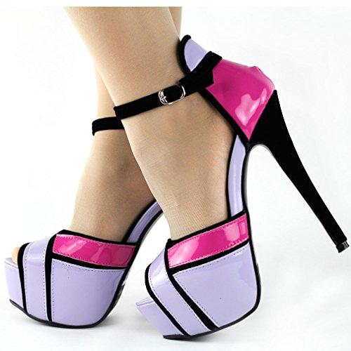 Show Story - Zapatos de tacón  mujer Morado - morado