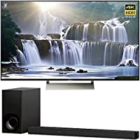 Sony XBR55X930E 55 16:9 4K HDR Edge Lit LED UHD LCD Android TV with Google Home Compatibility 3840x2160 & Sony HTZ9F 3.1Ch 4K HDR Compatible Dolby Atmos Soundbar with Built-in WiFi & Bluetooth