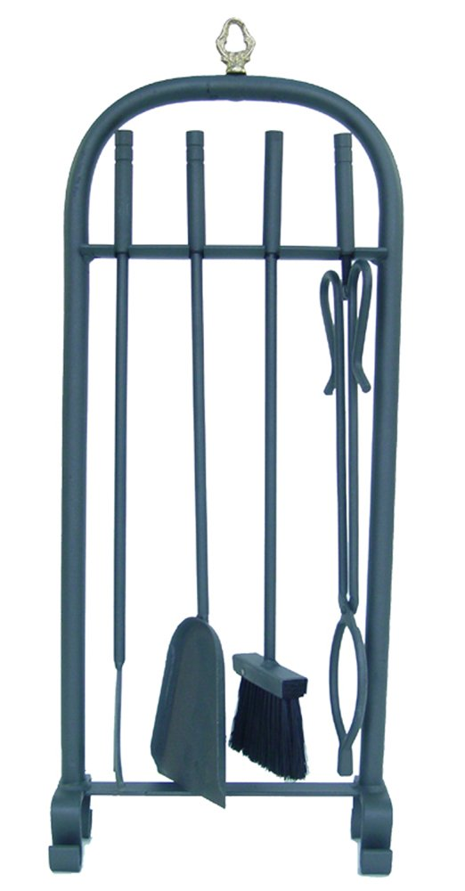 Imex The Fox 10075-f –  Pack of 4 Pieces for Fireplace (Forge, 70 cm) 70cm) IMEX EL ZORRO