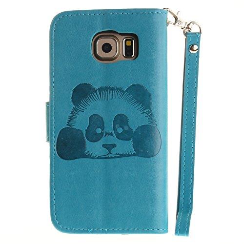 Silikonsoftshell PU Hülle für Galaxy S6 (5,1 Zoll) Tasche Schutz Hülle Case Cover Etui Strass Schutz schutzhülle Bumper Schale Silicone case