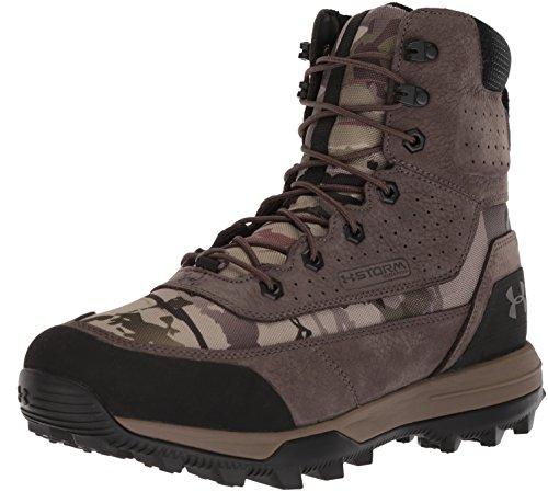Under Armour Men's SF Bozeman 2.0-600G Ankle Boot, Ridge Reaper Camo Ba (900)/Maverick Brown, 8.5 M US
