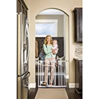 Regalo Hands Free Safety Gate, White