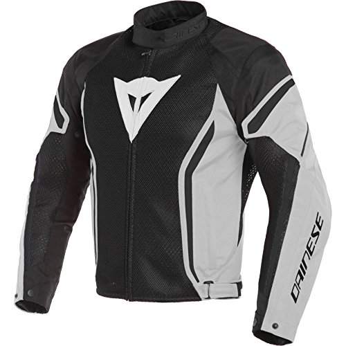 Dainese Men's Air Crono2 Tex Jacket Black/Grey 52