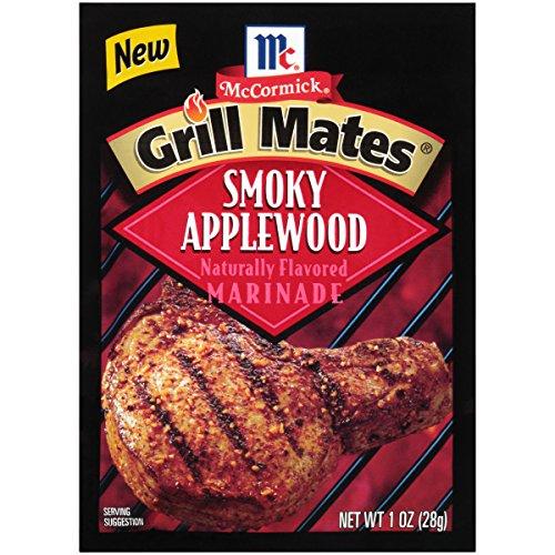 - McCormick Grill Mates Smoky Applewood Marinade, 1 oz (Pack of 12)
