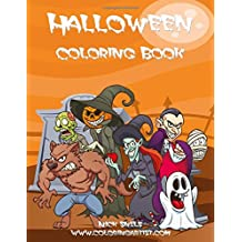 Halloween Coloring Book 2