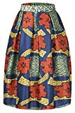 Annflat Women's African Print Knee Length Flare Skirts - Best Reviews Guide