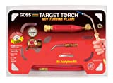 Goss KX-5B Soldering Brazing Torch Kit for ''B'' Acetylene Tanks with GA-5 Target Tip with Hot Turbine Flame